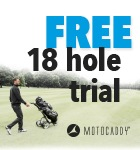 Motocaddy 18 hole trial