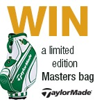 TaylorMade Masters bag competition