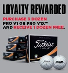 Titleist Loyalty Rewarded £42.99