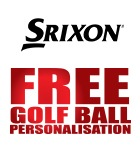 Srixon ball personalisation £17.99