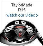 TaylorMade R15 woods