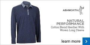 Ashworth Natural Performance long sleeve