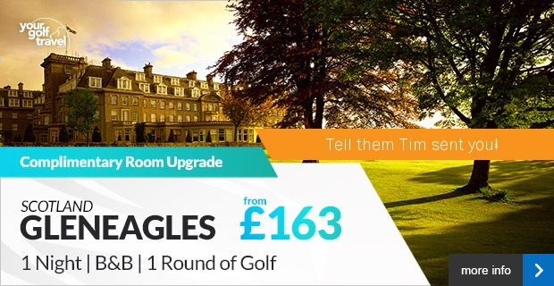 Your Golf Travel - Gleneagles, Scotland from £163