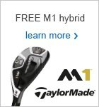 TaylorMade Free M1 Hybrid Offer