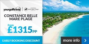 Your Golf Travel - Constance Belle Mare Plage