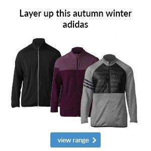 Adidas autumn winter layering 2017