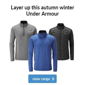 Under Armour autumn winter layering 2017