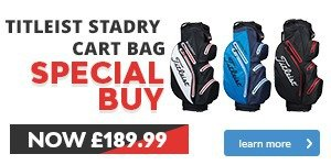 Titleist StaDry Bag - Special Buy